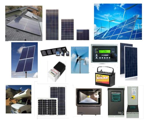 Solar Equipment Array